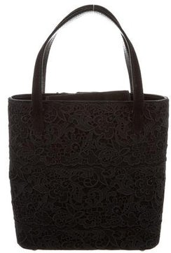 Stuart Weitzman Lace Handle Bag