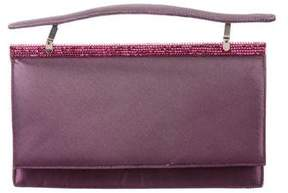 Judith Leiber Crystal-Embellished Handle Bag