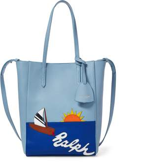 Ralph Lauren Sailboat Mini Modern Tote Bag