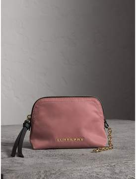 Burberry Small Zip-top Technical Nylon Pouch