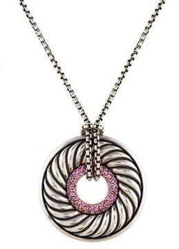 David Yurman Thoroughbred Pendant Necklace