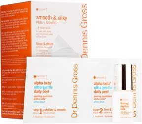 Dr. Dennis Gross Skincare Smooth & Silky Peel + Nourish Ultra Gentle 14-Day Challenge
