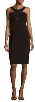ECI Sleeveless Embellished Dress