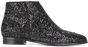 Anna Baiguera glitter booties