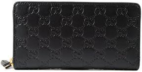 Gucci Signature Zip Around Wallet - BLACK - STYLE