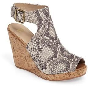 Johnston & Murphy Women's Mila Slingback Platform Wedge Sandal