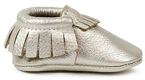 Freshly Picked Unisex Metallic Moccasins - Baby