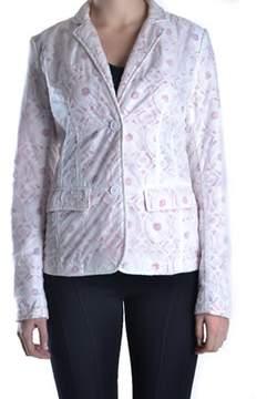 ADD Women's White Polyamide Blazer.