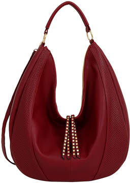 Mellow World Burgundy Vivian Hobo Bag