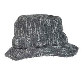 Nine West Women's Multi Boucle Fedora Hat (OS, Black)