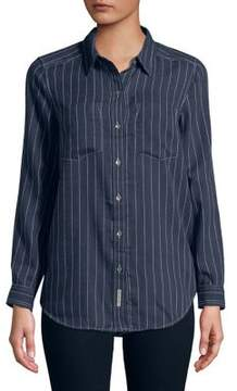 Calvin Klein Jeans Frosted Flannel Stripe Shirt