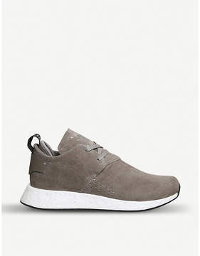 adidas NMD_C2 suede shoes