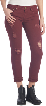 Dollhouse Merlot Charley Crop Pants