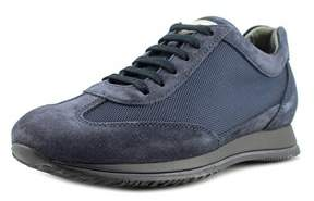 Hogan City Tech Mod Coda Rondine Ew Round Toe Suede Sneakers.
