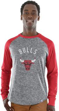 Majestic Big & Tall Chicago Bulls Raglan Tee