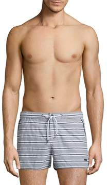 Parke & Ronen Men's Barcelona Striped Swim Trunks