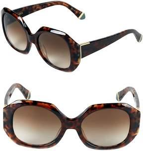 Zac Posen Women's Ingrid 54MM Square Sunglasses