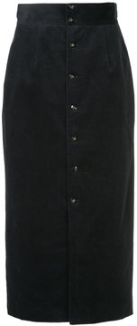 CITYSHOP corduroy high-waisted skirt