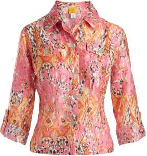 Azalea Tab-Sleeve Button-Up - Women