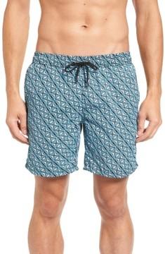 Mr.Swim Men's Print Swim Trunks