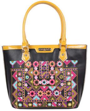 Nicole Lee Women's Ianeke Mirrored Shopper Bag