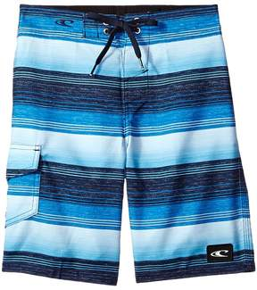 O'Neill Kids Santa Cruz Stripe Boardshorts Boy's Swimwear