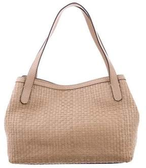 Max Mara Textured Leather Tote