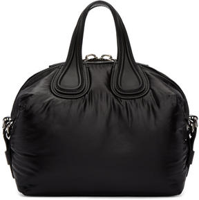 Givenchy Black Small Nylon Nightingale Bag
