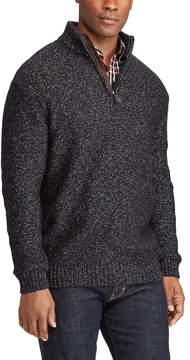 Chaps Men's Classic-Fit Quarter-Zip Pullover Sweater