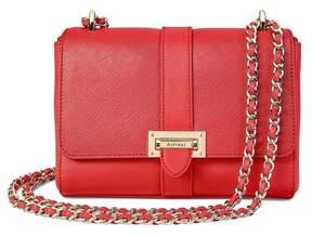 Aspinal of London | Small Lottie Bag In Dahlia Saffiano | Dahlia saffiano