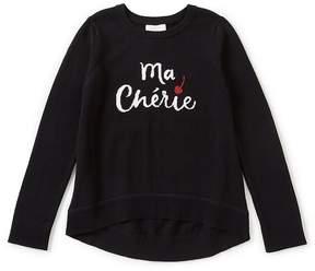 Kate Spade Little Girls 2-6 Cherie Hi-Low Sweater