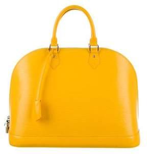 Louis Vuitton Epi Alma GM