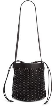 Paco Rabanne Calfskin Bucket Bag