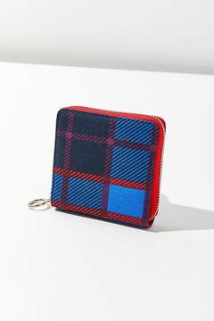 Urban Outfitters Plaid Square Wallet