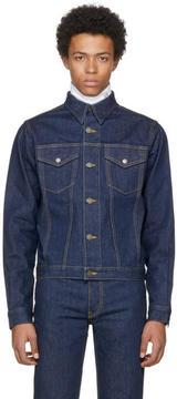 Calvin Klein Blue Denim Archive Trucker Jacket