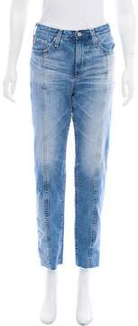 Adriano Goldschmied Distressed Mid-Rise Jeans w/ Tags