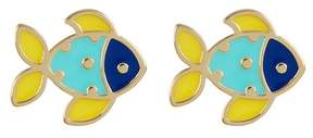 Ariella Collection Fish Earrings