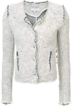 IRO fringed fitted jacket
