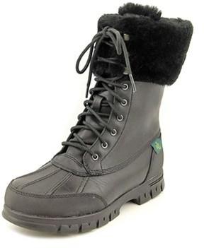 Lauren Ralph Lauren Quinta Round Toe Leather Snow Boot.