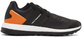 Y-3 Black Pureboost ZG Sneakers