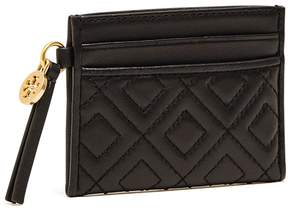Tory Burch FLEMING SLIM CARD CASE - BLACK - STYLE