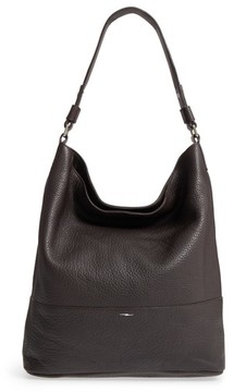 Shinola Relaxed Calfskin Leather Hobo Bag - Brown