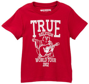 True Religion Buddha Tour Tee (Little Boys)