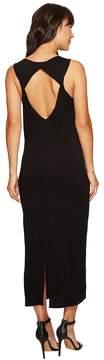 Kensie Subtle Slub Tees Dress with Open Back KS6K7978