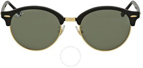 Ray-Ban Clubround Green Classic Sunglasses