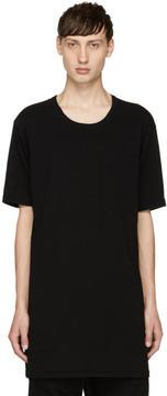 11 By Boris Bidjan Saberi Black Block Cut T-Shirt