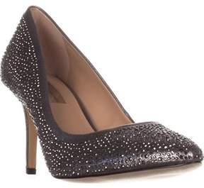 INC International Concepts I35 Zitah6 Classic Heels, Pewter.