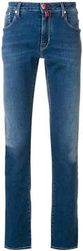 Jacob Cohen stonewashed stretch slim jeans