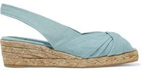 Castaner Knotted Canvas Espadrillestwisted Canvas Espadrille Wedge Sandals