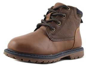 Osh Kosh Chandler Toddler Round Toe Synthetic Brown Boot.